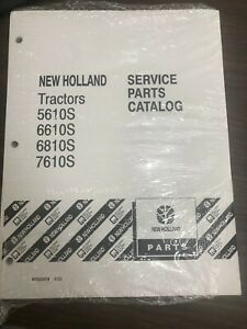 New Holland Service Parts Catalog Tractors 5610s 6610s 6810s 7610s L