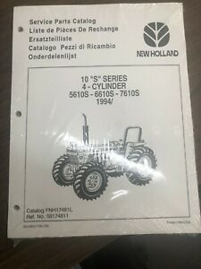 New Holland Service Parts Catalog 10 s Series 4 Cylinder 5610s 6610s 7610s L