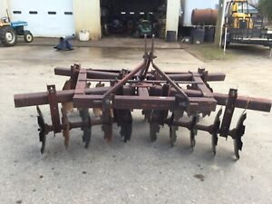 Tuffline T4x 3 Point Hitch Category 2 20 Disc Disc Harrow