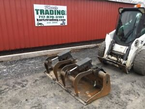 2013 Bobcat 74 Industrial Grapple Bucket For Skid Steer Loaders