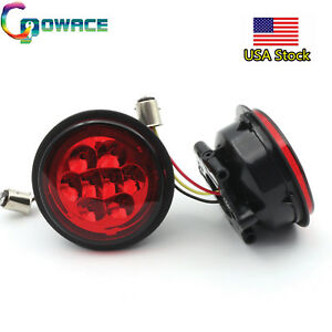 usa 2pcs Red Taillight For Can am 2011 17 Outlander Renegade Commander Maverick
