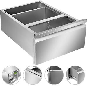 Stainless Steel Front Drawer For Food Prep Work Table15 7 x 20 x 8