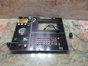 Centurion Iv Tree Cnc Vertical Mill J Type Main Operator Control Panel Keyboard