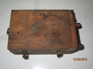 Model T Ignition Coil Wooden Box