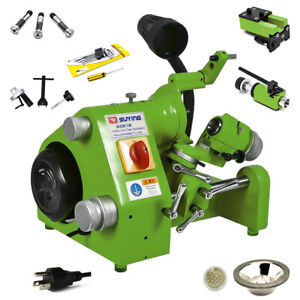 110v U3 Universal Tool Cutter Grinder Sharpener Machine Negative Angle Us Stock