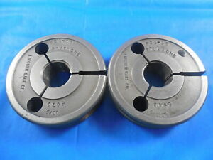 632 16 Stub Acme Thread Ring Gages 6320 Go No Go P d s 6070