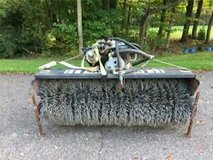 Sweepster Hydraulic Sweeper broom Attachment For Utility Tractors