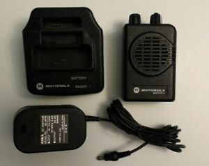 Motorola Minitor V 457 0125 461 9875mhz Vhf Two Channel Fire Ems Pager