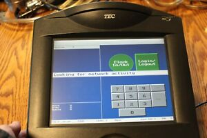 Tec Fs 3600 2 us Touch Pos Cash Register Restaurant Bar Power Supply Sold As Is