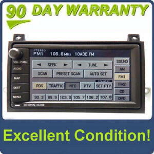 03 04 05 Lincoln Town Car Navigation Gps Radio 6 Cd Disc Player 4w1t 18c985 Ac