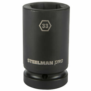 Steelman Pro 1 In Drive 33mm 6 Point Deep Impact Socket 79292