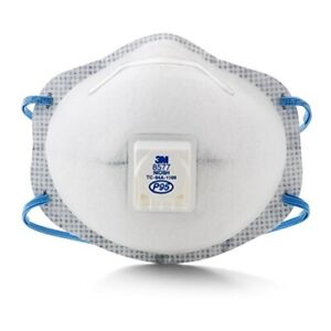 3m White Standard Particulate Respirator With Nuisance Level Organic Vapor 10