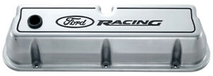 Proform Ford Racing Aluminum Valve Covers Polished P N 302 001
