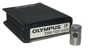 Olympus Industrial Fiberscope If 11d3 a40s If Optical Tip Adapter
