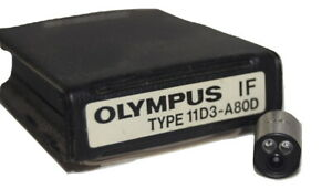 Olympus Industrial Fiberscope If 11d3 a80d If Optical Tip Adapter