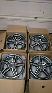 E Class Amg Wheels 2018 2019 Mercedes Benz 19in Lightly Scratched