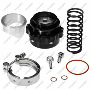 New For Tial Bov Version 50mm Bov Black Q Blow Off Valve With Aluminum Flange
