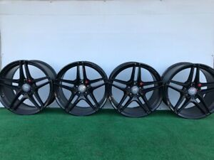2015 18 Mercedes Benz C63 C Class Amg 19 Genuine Factory Oem Wheels Rims Set