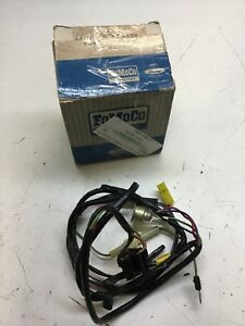 1966 Mercury Meteor Lamp And Wire Assy C6my 10a841 B Park Warning Light Harness