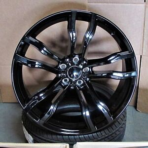 Bmw X5 X6 M Style 20x10 11 5x120 40 37 Gb Wheels Set Of 4 Fit E71 X6