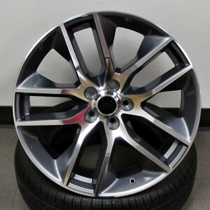 Ford Mustang Gt Style 20x9 5x114 3 Et35 Gunmetal Machined Face Wheel Set 4 Rims