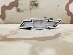 1975 Chevrolet Chevy Caprice Impala Grille Nose Badge Emblem Oem 75