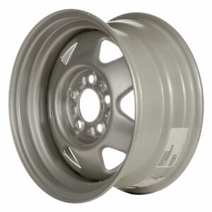 09029 Factory Oem Reconditioned Steel Wheel 15x7 Flat Grey Full Face Painted