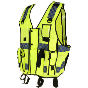 Motorcycle Reflective Vest High Visibility Riding Safety Vest Night Running