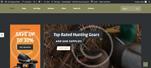 Hunting Website Business Amazon Dropship Profitable Website