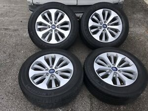 2018 Ford F150 Stx 20 Factory Oem Alloy Wheels Tires 2004 2019 Factory