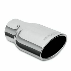 Magnaflow Exhaust Tip 8 25in Polished Double Wall Weld On 3 25x4 75in Oval 35171