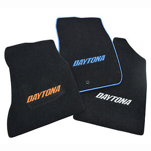 Dodge Charger Daytona Floor Mats Custom Colors 2006 2019 32oz 2ply Set 4