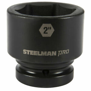 Steelman Pro 79304 1 Inch Drive X 2 Inch 6 Point Impact Socket