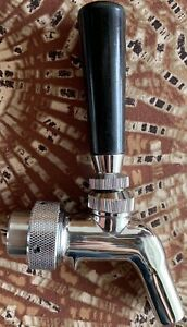 Perlick Perl Draft Beer Faucet Stainless Steel W Quick Connect Adapter
