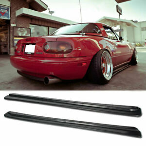Fd Feed Style Abs Side Skirt Rocker Panel For Mazda Miata 90 97 Na Mx5 Kit Mk1