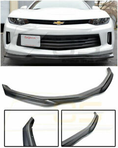 Eos T6 Style Abs Front Bumper Lip Lower Spoiler For Chevy Camaro Rs 16 18