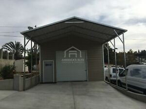 21 x41 x12 Workshop garages Carports Rv Covers Pre fab Barns steel Building