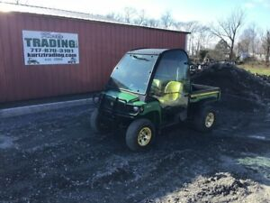 2008 John Deere Gator Xuv 850d 4wd Utility Vehicle With Cab