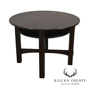 Mission Oak Antique 40 Round Games Table