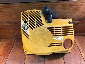 Partner K650 K700 Oem Used Starter Cover Recoil Assembly Cut off Concrete Saw