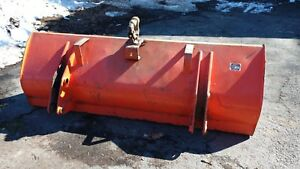 Kubota L1779 72 Hd Round Back Loader Bucket La852 L4610