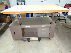 Vintage Mayline Desk O Matic Industrial Drafting Table