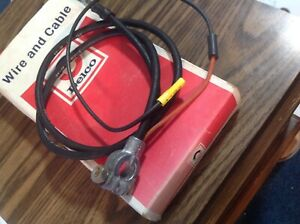 Nos 1964 1965 1966 1967 Chevelle Gm Delco Positive Battery Cable Gm Part 8909815