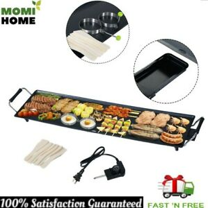 Commercial Electric Griddle Flat Top Countertop Large Non Stick Grill Bbq 2000 W