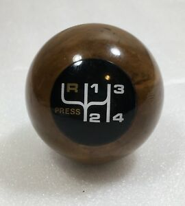 1979 1980 Amc 4 Speed Press Shift Knob Concord Eagle Pacer Spirit Rat Rod Wood