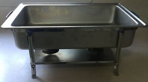 Vollrath Commercial Stainless Chafer 48639 Japan Dripless Water Pan 99745 Usa
