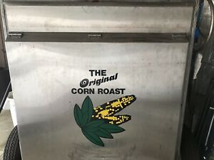 Corn Roasting Concession Stainless Steel Equipment with Stand And Tent