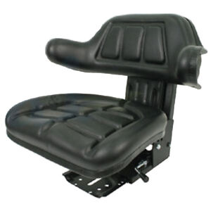 Black Wrap Back Tractor Suspension Seat Ford New Holland 600 601 800 801 wc