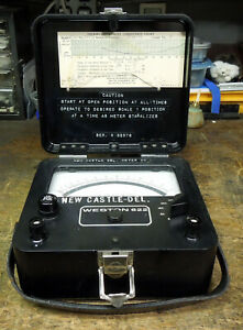 Vintage Weston Model 622 Thermo Voltmeter True Rms And Dc Volts