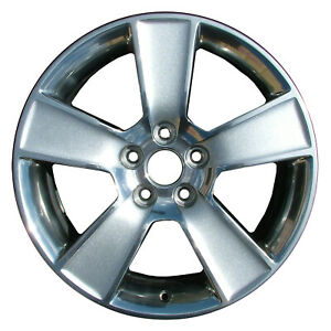 03647 Refinished Ford Mustang 2006 2008 18 Inch Wheel Rim Oe Polished W charcoal